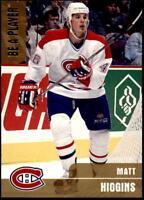 1999-00 BAP Memorabilia Gold #36 Matt Higgins #/100 (REF 9799)