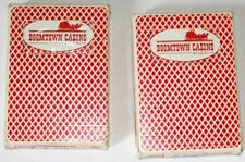 Boomtown Casino Cards Biloxi Ms Re-Sealed Bee as deck used in casino lot of 2