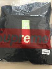 Supreme Box Logo Hooded Sweatshirt (FW17) Black REPLICA PERFETTA