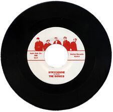"""THE SONICS  """"STRYCHNINE c/w SHOT DOWN""""   60's GARAGE    LISTEN!"""