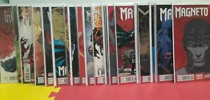 Magneto marvel now #1-21