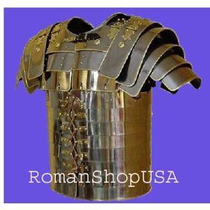 Roman Lorica Segmentata Armor Brass Trimmed Collectible Roman Lorica