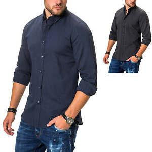 Antony Morato Herren Langarmhemd Businesshemd Klassisches Hemd Herrenhemd SALE %