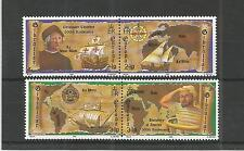 GIBRALTAR 1992 EUROPA DISCOVERY OF AMERICA SG,669-672 U/MM N/H LOT 4438A