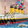1860 pcs Cruise Ship Boat Building Bricks Blocks 3D Model Kids Toys Gift