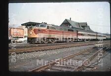 Duplicate Slide EL Erie Lackawanna ALCO PA1 852 W/Psgr Train Stroudsburg PA