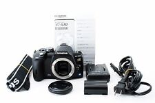 Olympus EVOLT E-510 10.0 MP Digital SLR Camera Black Body Near Mint From Japan