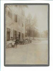 XX14130/ Kabinettfoto Mendelpass Dolomiten Südtirol 1903 Pappfoto Fotografie