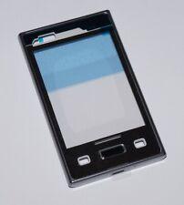 Original LG E400 Optimus L3 Housing Frame, Front Cover Frame, Black, Black