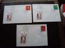 SUISSE - 3 enveloppes 1er jour 26/11/1981 (B11) switzerland
