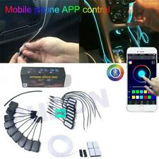 1In9 NO Threading Ambient Light Car Atmosphere Light Lamp APP Control 64Colors