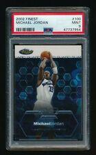 2002 Topps Finest #100 Michael Jordan PSA 9 MINT Washington Wizards