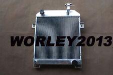 56 mm aluminum radiator for JAGUAR MK2 2.5 DAIMLER V8 1962-1967 1963 1964 1965