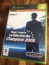 Xbox 1er Génération Roger Lemerre La Sélection Des Champions 2005/fr /Neuf /New