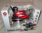 Sharper Image Thunder Tumbler RC Car NEW - Red