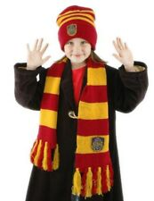 Harry Potter Hogwarts School Deluxe Scarf and Beanie Hat Set NEW SEALED UNWORN