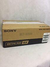 Sony Betacam SX Digital Video Cassette BCT-32SXA Qty 10