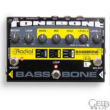 Radial Tonebone Bassbone V2 Bass Preamp and DI Box - R800707100