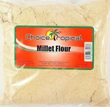 Millet Flour - Choice Tropical Millet Flour - 16oz/454g (Pack of 2)