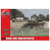 Airfix A1356 M36B1 GMC Tank Destroyer Model Kit (Scale 1:35)