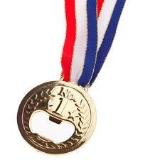 Drink Beer Beverage Bottle Opener Champion Gold Medal