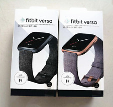 Fitbit Versa Special Edition Smartwatch Heart Rate Fitness Tracker Sealed Box