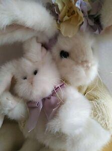 "BEARINGTON BEAR COLLECTION 2009   ""Beatrix & Bunny"" Rabbit #4176 36cm - NWOT"
