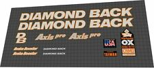 Diamondback Axis Pro 1992 Decal Set