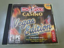 MONOPOLY CASINO VEGAS EDITION PC SOFTWARE GAME
