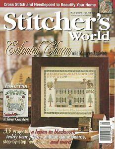 Stitcher's World May 2000 MaureenAppleton SharonPope JenniferAikmanSmith