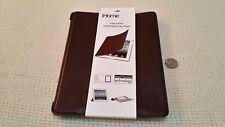 NEW iHome Executive Smart Book Brown (IH-B-IP1161Z), for iPad 2 3 4