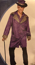 Mens Pimp Daddy Dressing Up Costume Size Medium Wicked Costumes
