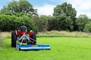 B-FTOP6 - Fleming TOP6 6ft Semi Offset Topper Mower - For Compact Tractors