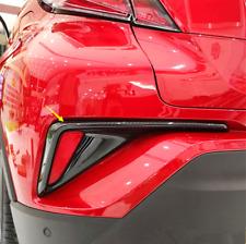 2016-2018 For Toyota C-HR CHR Carbon Fiber Rear Fog Light Lamp Frame Cover Trim
