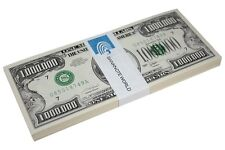 America One Million 1,000,000 Dollar Novelty MoneyX100 Pieces,Play Currency,Pack