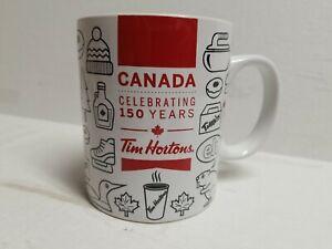 Tim Hortons 2017  Canada 150 Years Coffee Mug