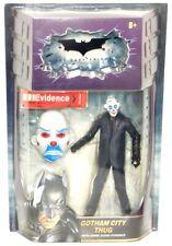 "Batman Dark Knight Movie Masters Gotham City Thug 6"" Figure Crime Scene Evidence"