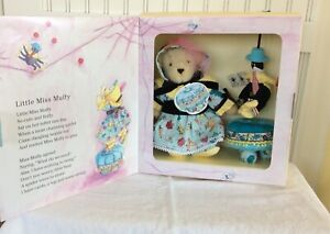 Muffy VanderBear Storybook Fifth Club Little Miss Muffit with Spider Tuffit
