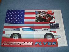 "1985 Corvette Vintage Pro Street Article ""American Flyer"""