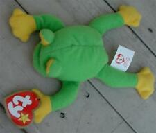 Smoochy The Frog, Ty Teenie Beanie, Very Good Condition