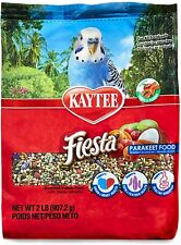 New listing Kaytee Fiesta For Parakeets Max Bird Food For Parakeets, 2-Pound