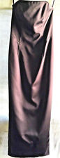 A.B.S. EVENING by ALLEN SCHWARTZ  women FORMAL dress BLACK size 12