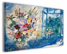 Quadri famosi moderni Marc Chagall vol VI stampa su tela canvas arredo poster
