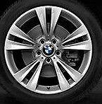 "BMW OEM  X3 and X4  19""x9.5"" LA Wheel M Dbl. Spoke  St. 369 Wheels Set of 4"