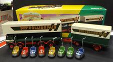 Neu Corgi 09901 ERF Dodgem Lkw & Box LKW Set,für Pat Collins in 1:50 Maßstab