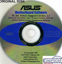 ASUS GENUINE VINTAGE ORIGINAL DISK FOR PC-DL Deluxe Motherboard Disk S052