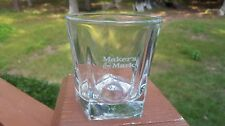 New Makers Mark 8 Ounce Etched Lowball Glasses Libbey Duratuff Glass Made In USA