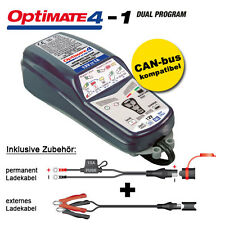 Batterieladegerät Tecmate OptiMate 4 DUAL 1A, 12V-Pflege für Batterien, SAE