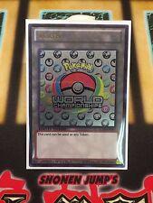 Pokemon World Championship Token Custom Ultra Rare Yugioh Token