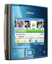 Nueva marca Nokia X5-01 - Azul (Desbloqueado) Teléfono Móvil Wi-Fi, 5MP